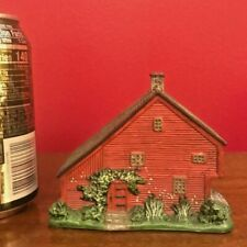 Lang & Wise Town Hall Collectibles Red Saltbox1998 Linda Nelson Stocks -28010203