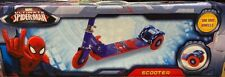 Ultimate Spider-Man 3 Wheel Folding Kick Scooter Disney Marvel Comics Brand New