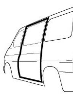 VW T4 sliding door seal