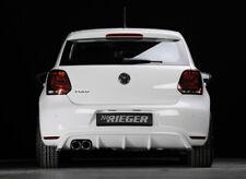 Rieger CUP Spoilerlippe für VW Polo 6 GTI 6R Frontspoiler Spoilerschwert Ansatz