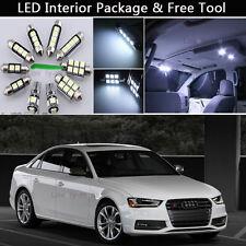 15PCS Canbus LED Interior Lights Package kit Fit 2009-2014 Audi A4 B8 SEDAN J1