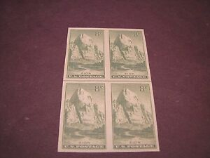 US Stamp Scott# 763 Zion Park Hor. Line Blk 1935  MNG Hinged  C238
