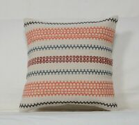 Cushion Cover Indian Vintage Cushions Kilim Cotton Jute Pillows Handmade 1142