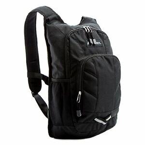 Everest Mini Pack Hiking Backpack, Black, One Size