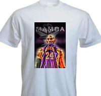 Kobe Bryant BLACK MAMBA Los Angeles Lakers NBA Legend T Shirt (KB-3)
