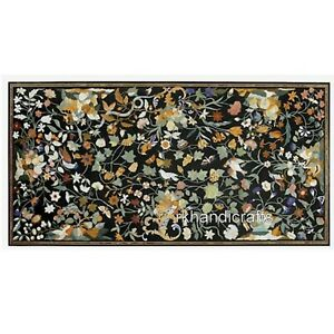 Marble Restaurant Table Top Luxurious Look Home Dine Furniture 36 x 72 Inches