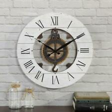 19 in. Shiplap Pulley Clock by  FirsTime & Co.
