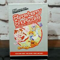 Atari 2600 Strawberry Shortcake Musical Match-Ups Sealed In Box NEW - NOS - READ