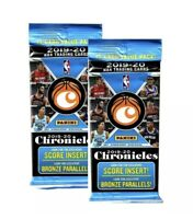 2019-20 Panini Chronicles NBA Basketball (2)15-card Value Cello Packs New Sealed