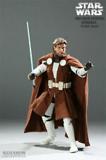 "Sideshow Star Wars General Obi-Wan Kenobi Clone Wars 1/6 12"" Inch Figure"