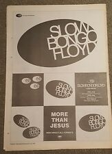 Slow Bongo Floyd More than 1991 press advert Full page 30 x 42cm mini poster