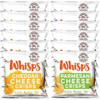 Whisps Cheese Crisps Single Serve 12 Count Variety Pack