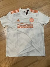 Adidas ATLANTA UNITED FC AWAY JERSEY WHITE / LIGHT SOLID GREY Sz XL CD3631 MLS