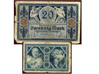 ALLEMAGNE  20 mark 4 / 11 / 1915   B1587951