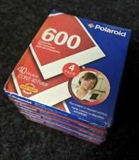 4 X Packs of Rare Polaroid 600 Color Instant Film - Late Expiry Date - Sealed