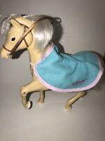 FISHER PRICE Loving Family Dollhouse WHISPER The HORSE Western Palomino Pony