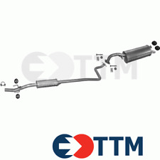 TOYOTA YARIS HATCHBACK 1.0 68HP 1999- Silencer Exhaust System+