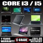 Fast Cheap Intel Core I3/ I5 Laptop Windows 10 500gb Hd 4gb/8gb Ram C Grade