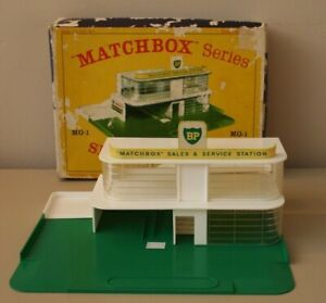 Matchbox series MG-1 Service Station Boxed Vintage