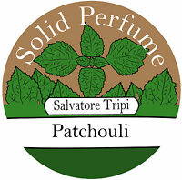 Patchouli Natural Solid Perfume 10g Salvatore Tripi Italian Recipe 100% Charity