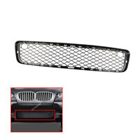 Front Center Lower Bumper Grille Black Mesh Trim For BMW X5 2007-2011