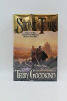 TOR FANTASY Stone Of Tears Terry Goodkind 1st Edition Fantasy Hardback Book NEW
