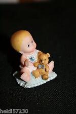 Bébé avec ourson décoration dragées baptême mariage communion