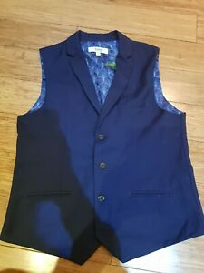 Ted baker Boys Suit Trousers and waistcoat age 13