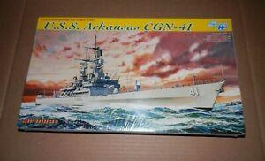 Cyber Hobby 1/700 USS Arkansas CGN 41 Virginia Class Cruiser Model