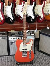 2017 Fender Deluxe Nashville Telecaster! Classic Fiesta Red Finish!