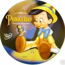 DISNEY DVD Pinocchio - ed.speciale ologramma tondo