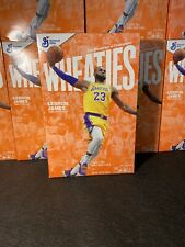 Lebron James Wheaties *Sold Out*  15.6 oz Cereal Box In Hand