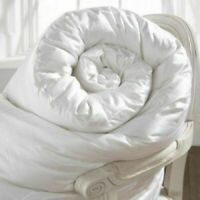 Luxury Goose Feather And 40% Down Duvet Quilt, All Sizes 10.5 Tog Summer Quilt