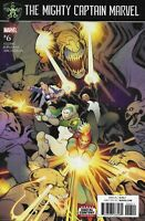 Mighty Captain Marvel Comic 6 Cover A Elizabeth Torque First Print 2017 Stohl
