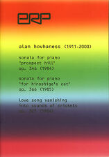 SONATA FOR PIANO 'PROSPECT HILL' OP. 346 (SCORE) - ALAN HOVHANESS