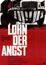 Lohn der Angst ORIGINAL DIN A1 Kinoplakat Yves Montand / Peter van Eyck