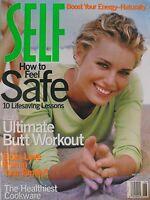 REBBECA ROMIJN  June 1997 SELF Magazine