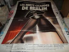 AFFICHE  BRASS / SALON KITTY / NUITS CHAUDES DE BERLIN