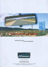 """Kenwood KDC-PSW9524 """"Still Havent Found"""" 2003 Magazine Advert #153"""