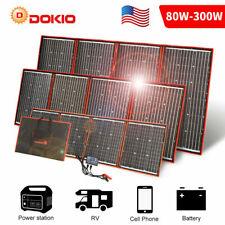⚡300W 200W 100W 100 Watt Monocrystalline Solar Panel 12V Home RV Marine Camping