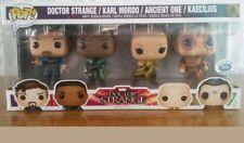 SET FIGURE MARVEL DOCTOR STRANGE  POP FUNKO 4-PACK limited edition 4000 Disney