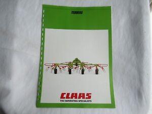 1986 CLAAS hay tedders brochure