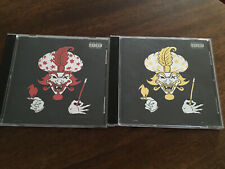 Insane Clown Posse ICP - Great Milenko Hollywood Records (2) CD LOT RED & GOLD