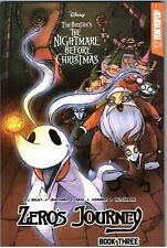 Zero's Journey  Disney Manga Tim Burton's Nightmare Before Christmas Book Three
