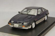 1/43 Hi-Story Nissan Fairlady Z 2 by 2 300 ZX Z 31 (1983) Black Met HS176BK