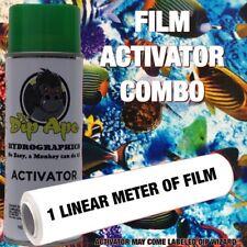 Aquarium Fish Ocean Dip Ape Activator Film Combo Hydrographic Water Transfer
