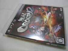 7-14 Days to USA Airmail. USED PS3 Dynasty Warriors Musou Orochi 2 Japanese Ver