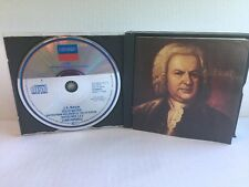 BACH: Cello Suites Lynn Harrell London digital box set of 2 CD's 1985 The decca