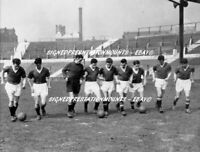 """BUSBY BABES TRAINING PHOTO VERY RARE 1957 MANCHESTER UNITED 12 X8""""  PRINT COA"""