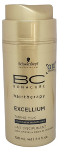schwarzkopf hair taming milk bc bonacure 100ml Q10+ coarse mature hair